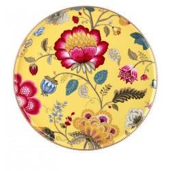 Plat à gâteaux collection Fantasy  jaune-Marque Pip Studio