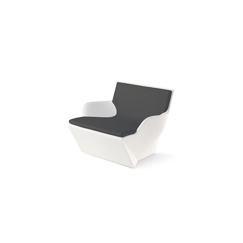 Coussin d 39 assise pour fauteuil kami san slide design - Coussin d assise pour canape ...