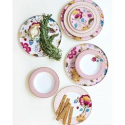 Assiette à dessert fantasy blanche - Marque Pip Studio