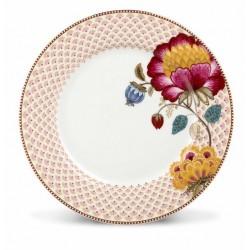 Assiette plate Fantasy Blanche - Marque Pip Studio