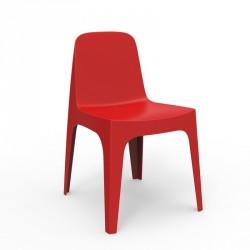 Lot de 4 chaises Collection SOLID - Marque VONDOM