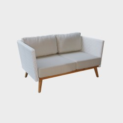 Sofa 2 places POB - Canapé extérieur design haut de gamme