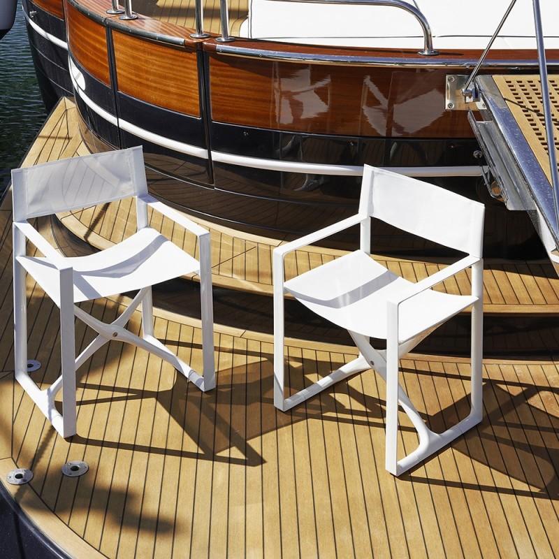 La regista chaise mobilier ext rieur haut de gamme serralunga for Mobilier exterieur haut de gamme
