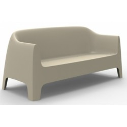 Canapé Collection SOLID - Mobilier d'extérieur -Sofa-Marque VONDOM