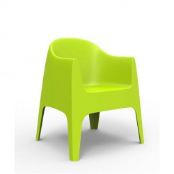 Chaise design avec accoudoirs SOLID-VONDOM