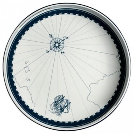 Plateau rond en Mélamine - plateau collection columbus- Marine business