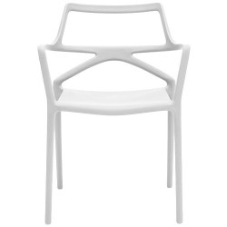Delta Chaise - Chaise design avec accoudoirs-Vondom