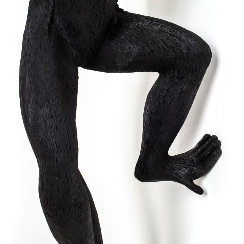 Monkey Lampe-Noire-Applique-Design-Lampe-Singe-Seletti-En Stock