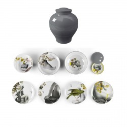 Service de table Yuan Parnasse-vaisselle empilable/incassable-8 pièces