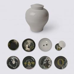 Service Yuan d'Antan 8 piéces /Vaisselle vase