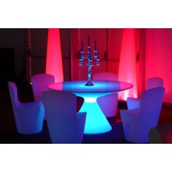 Table lumineuse ED de slide design