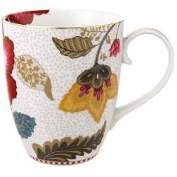 Mug Fantasy Blooming Tails Blanc 35 cl