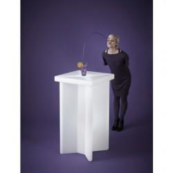 Mange debout lumineux X2-table haute lumineuse
