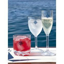Flûte à champagne NORTHWIND-Incassable-set de 6