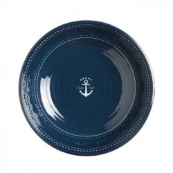 Assiette creuse-Bol-Marine Business-Sailor Soul-Set de 6