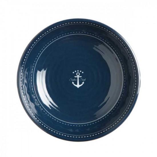 Assiette creuse-Bol-Marine Business-Sailor Soul-Set de 6