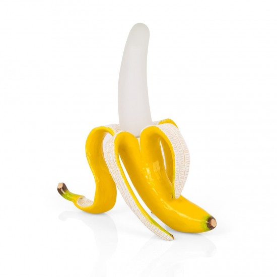 LAMPE BANANE DAISY-LAMPE A POSER DECALEE-Marque SELETTI
