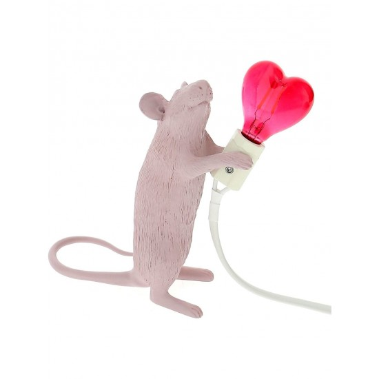 Lampe souris LOVE  Seletti - Mouse Lamp LOVE