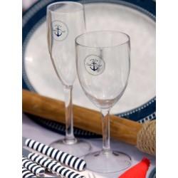 Flûtes à champagne Sailor Soul - Set de 6- décoration marine