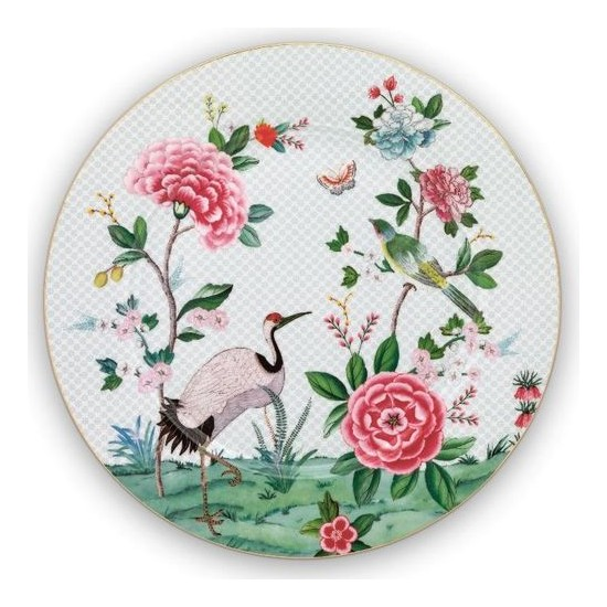 Assiette de présentation 32 cm-Blushing birds