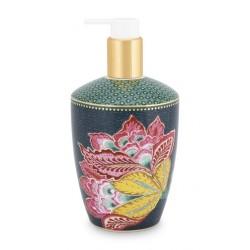 Distributeur de savon liquide Flower Bleu