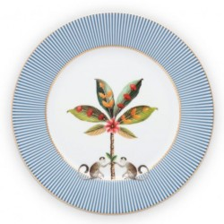 Assiette plate - Majorelle Bleu