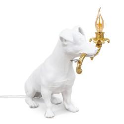 Lampe RIO - Lampe chien en résine