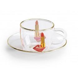 Tasse à café verre  Toiletpaper TONGUE
