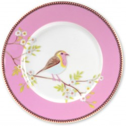 Assiette plate EARLY BIRDS- MARQUE PIP STUDIO.