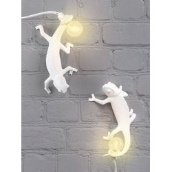 Lampe CAMELEON GOING UP-APPLIQUE-SELETTI