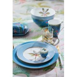 Assiette plate LA MAJORELLE Bleue - Marque PIP STUDIO