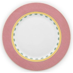 Assiette plate LA MAJORELLE Rose-PIP STUDIO