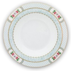 Assiette creuse PIP STUDIO - Blushing Bird Blanc