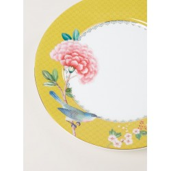Assiette Pate 21 cm PIP STUDIO-Collection BLUSHING BIRDS Jaune
