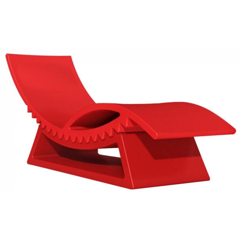 Chaise longue bain de soleil tic tac slide design - Chaise longue design exterieur ...