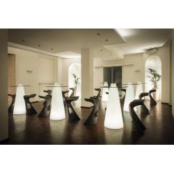 Mange debout lumineux PEAK - Table design lumineuse