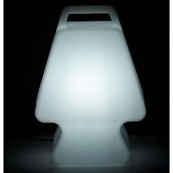 """Lampe sans fil sur batterie RGB,  """"Prêt à Porter"""" slide"""