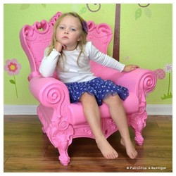 Fauteuil Little Queen of Love Rose