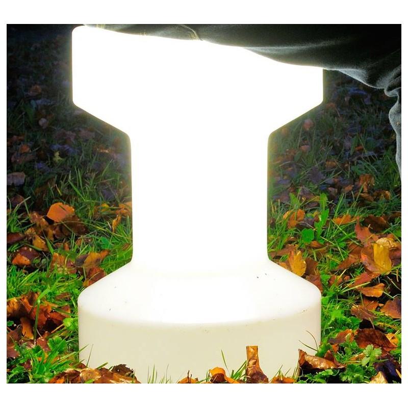 tabouret lumineux sans fil stool de bloom. Black Bedroom Furniture Sets. Home Design Ideas