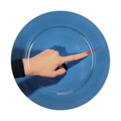 Assiette plate SHIT de TOILETPAPER-Assiette originale