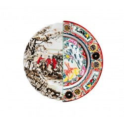 Assiette plate collection HYBRID SELETTI