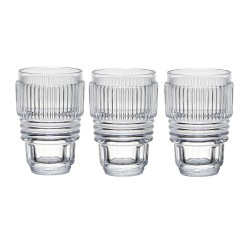 Set de 3 verres/H.10 Machine Collection-Diesel Living pour Seletti