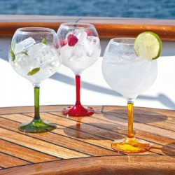 Set de 6 verres ballons-Marine BUSINESS