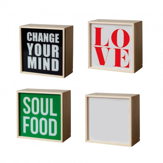 Lampe, Appliques LIGHTHINK  BOXES