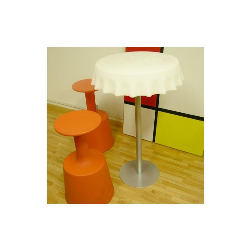 Mange debout table haute fizzz marque slide design - Table haute mange debout ...