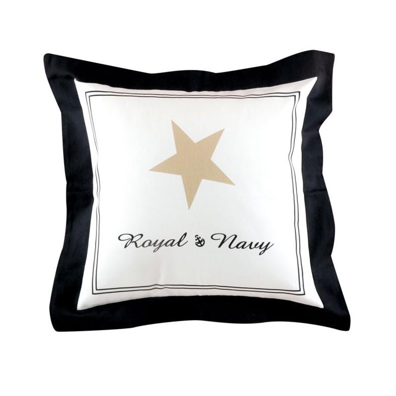 set de 2 housses de coussins collection royal marine business. Black Bedroom Furniture Sets. Home Design Ideas