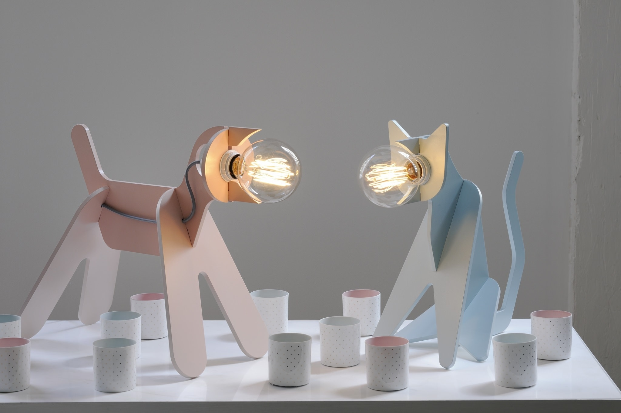 lampe get out/Clotilde et Julien design