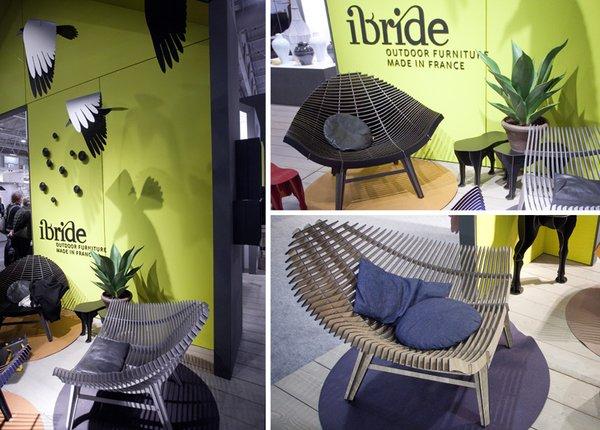 Fauteuil manta marque ibride mobilier outdoor for Marque mobilier design
