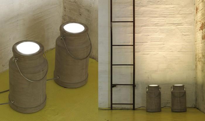 Lampe design VIA Lattea Karman
