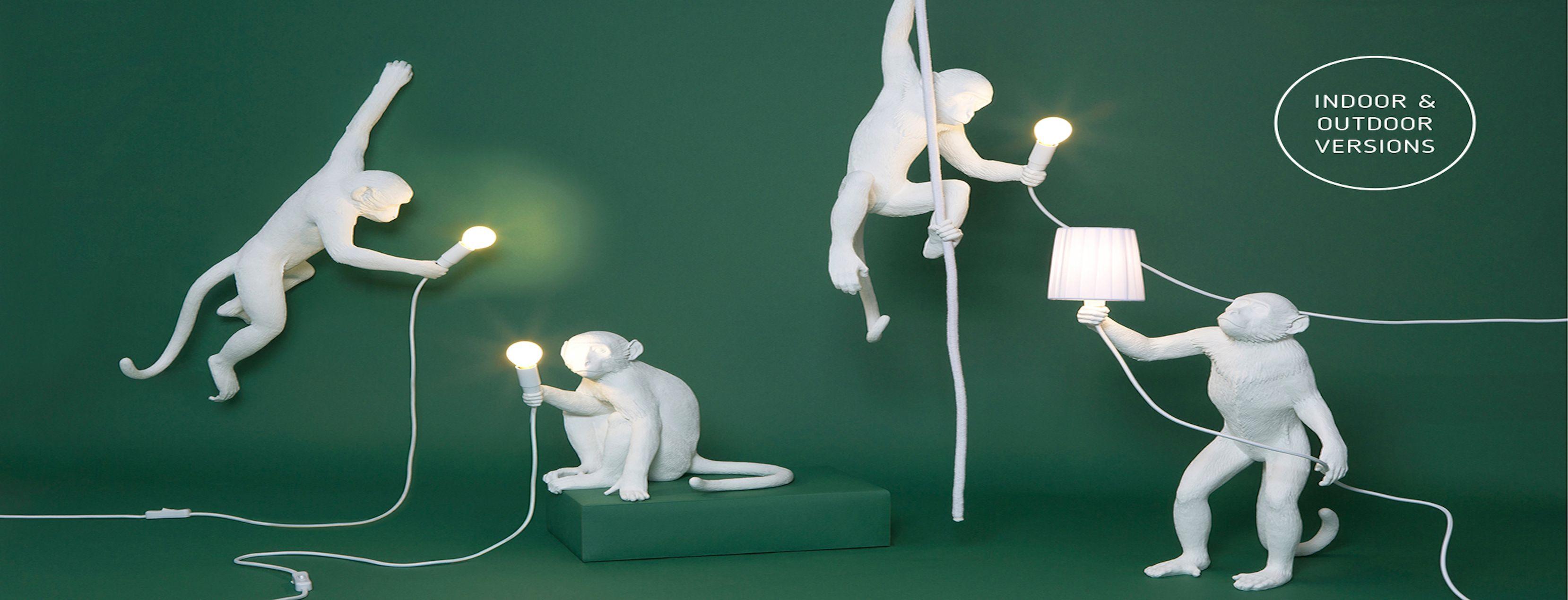 Monkey lampe SELETTI-lampe extérieur